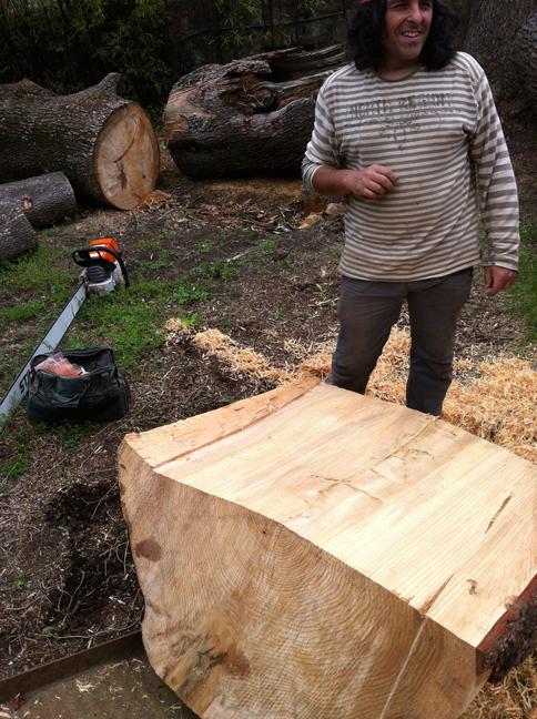Billot De Bois Deco : de c?dre pour sculpture – D?coration maison Rondelles de bois en